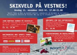 Høstmøte og Skikveld i Vestnes 2015